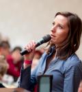 Public speaking.SimplyWoman